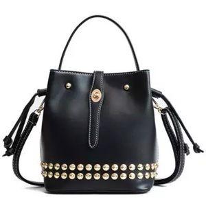 Handbags - SALE! 🆕 AUSTIN Vol. 2 Rivet Studded Bucket Bag